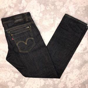 Levi's 511 Jeans Dark Blue Skinny Men's 34